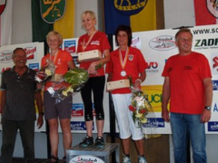 Ilze on rewarding ceremony in Austria